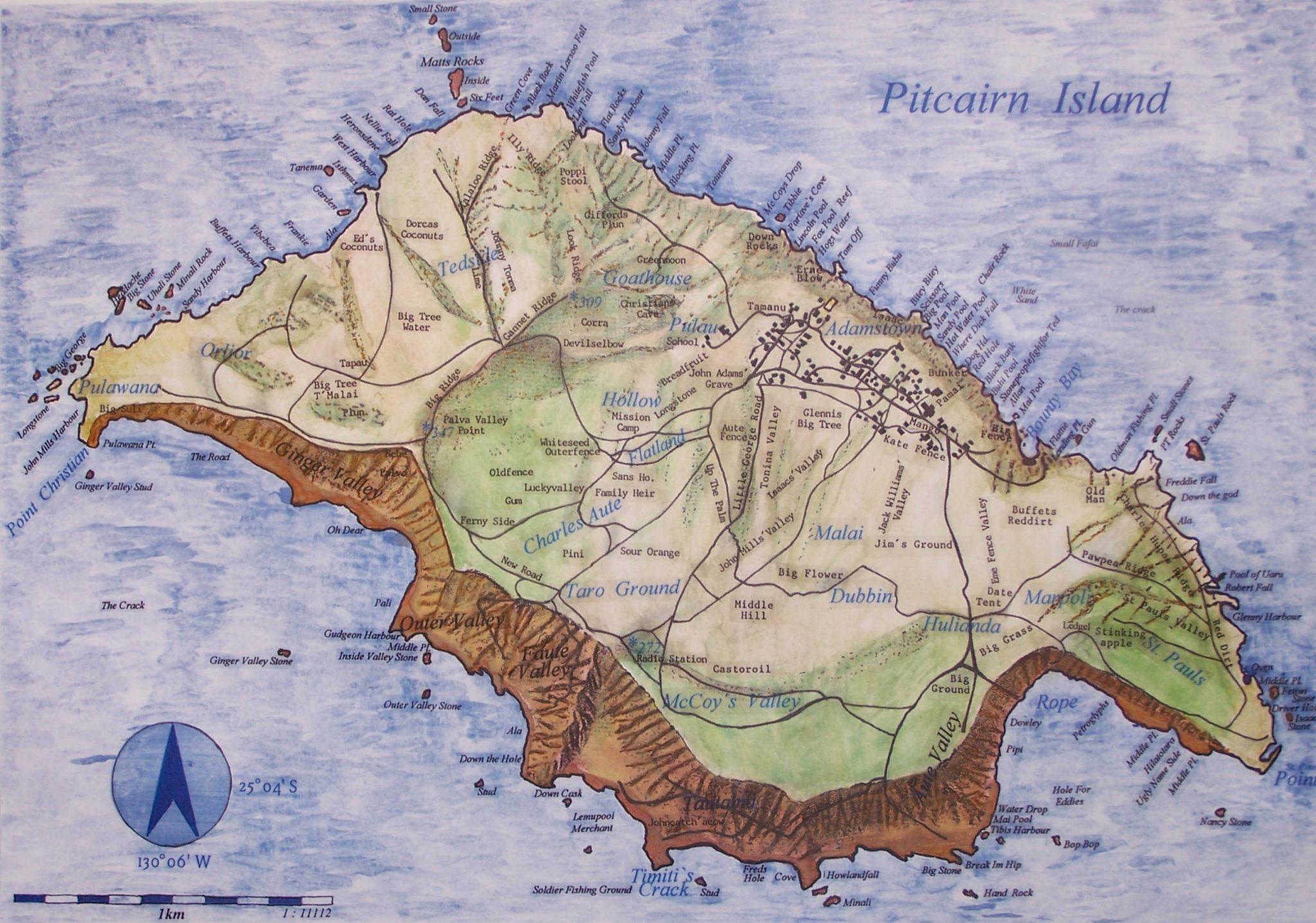 Islas Vírgenes Pitcairn, Una Opción Lejana… En Todos Los Sentidos…