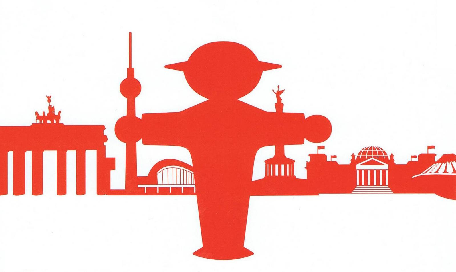 Arte En Los Semáforos De Berlín: El Ampelmann