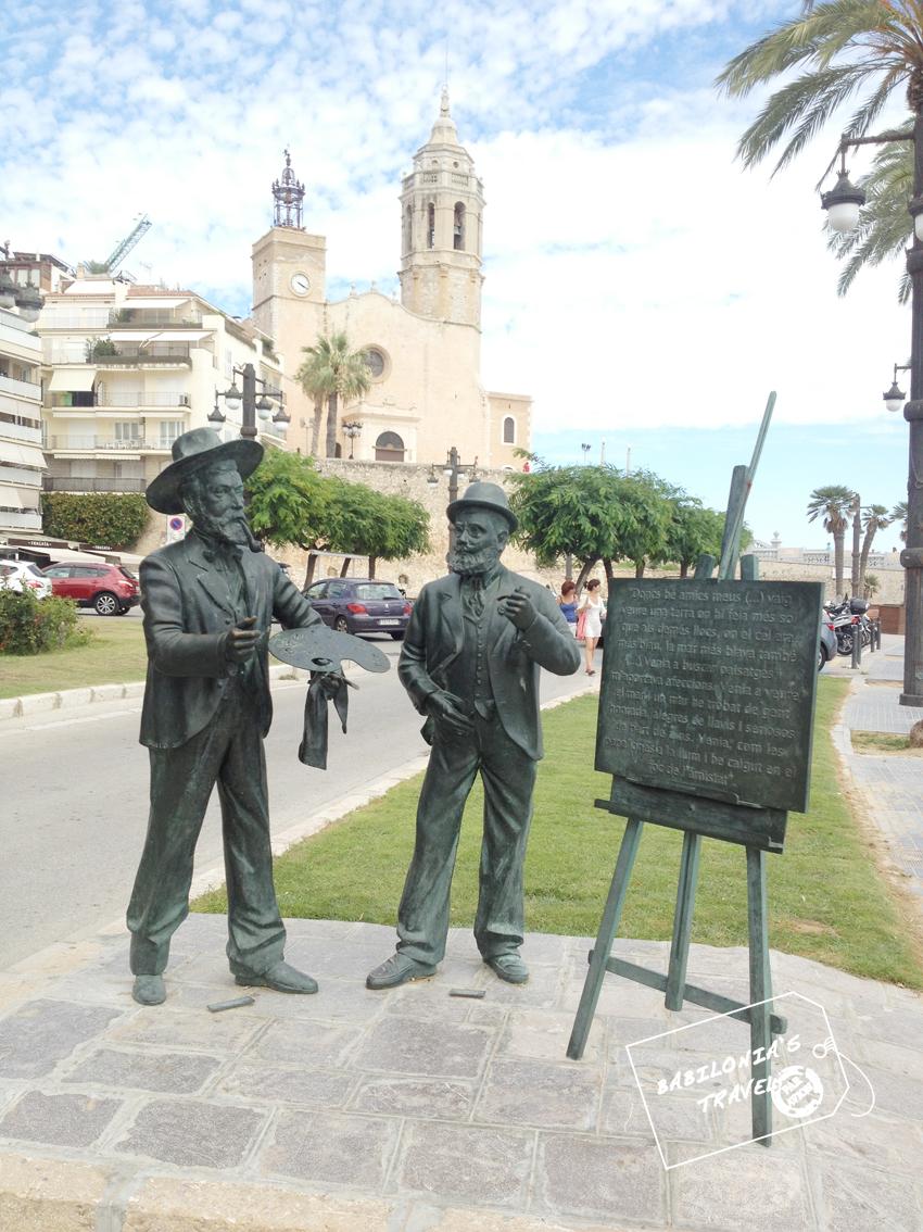 Casas y Rusiñol en Sitges