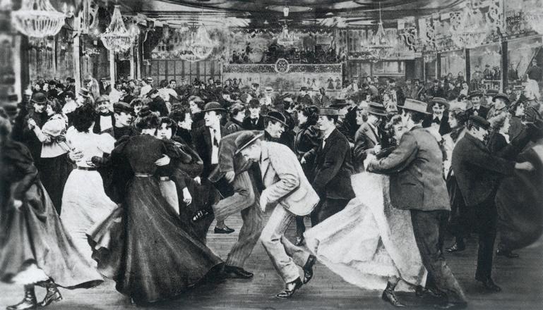 Una Sale De Baile Del Siglo XIX En París: Le Moulin De La Galette