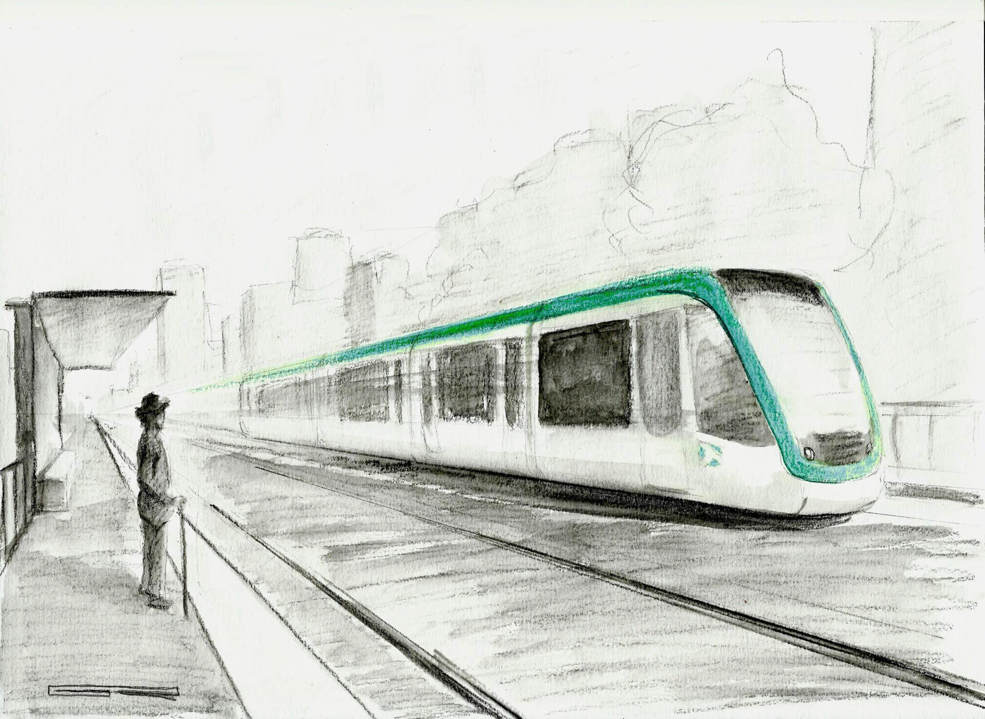 De Km 0 En El Tranvía Del Siglo XXI