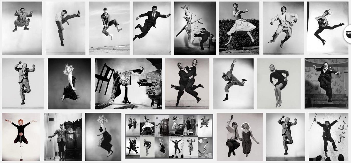 El Maestro Del Jumping (Jumpology), Por Philippe Halsman