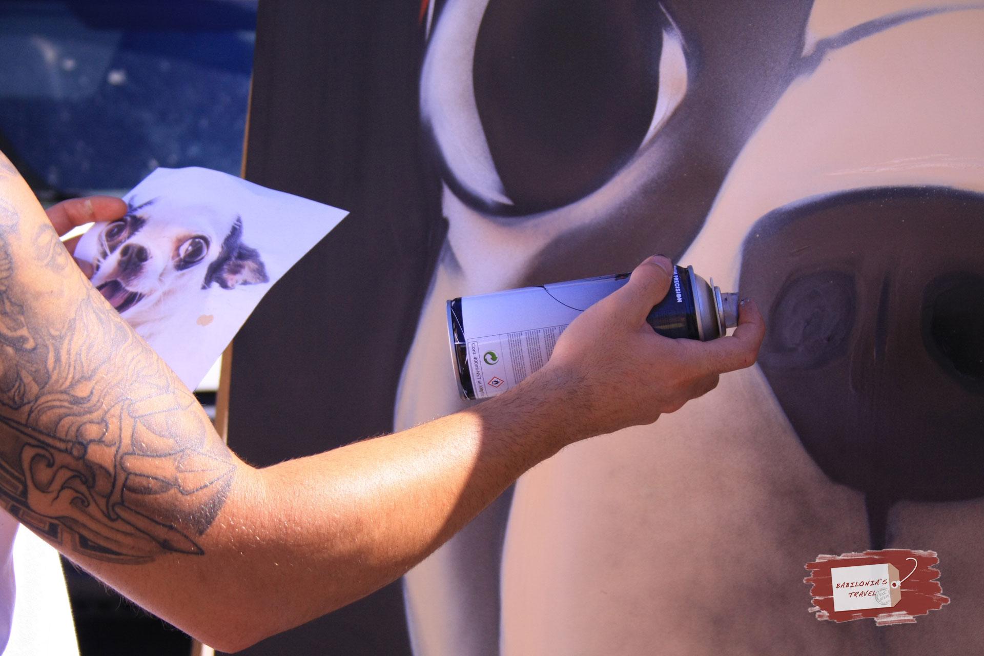 La (i)legalidad Del Grafiti Explicada Por El Artista