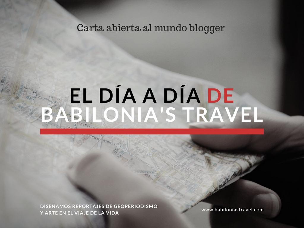 Carta Abierta Al Mundo Blogger