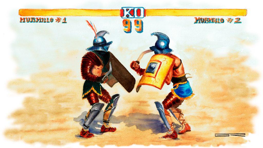 tarraco viva gladiador