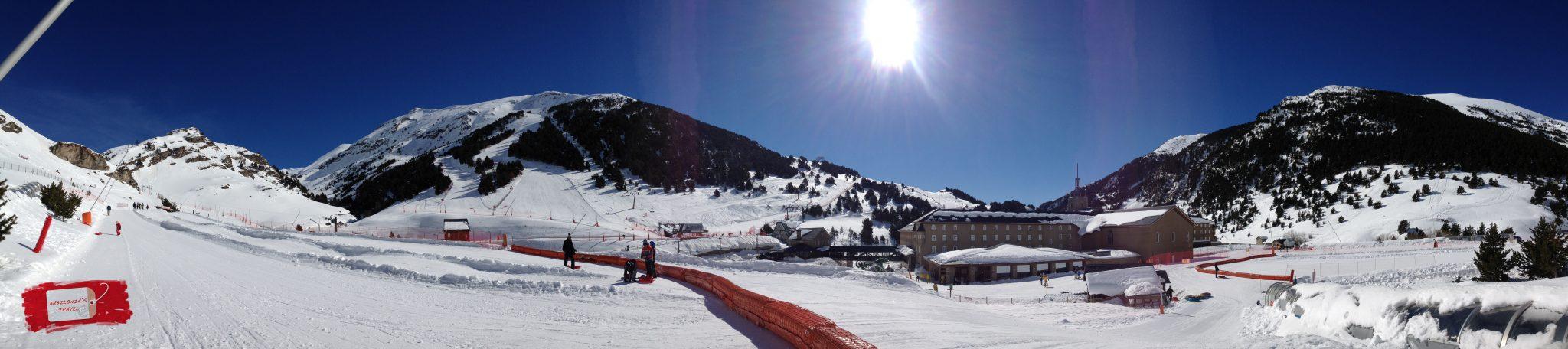 nieve vall de nuria