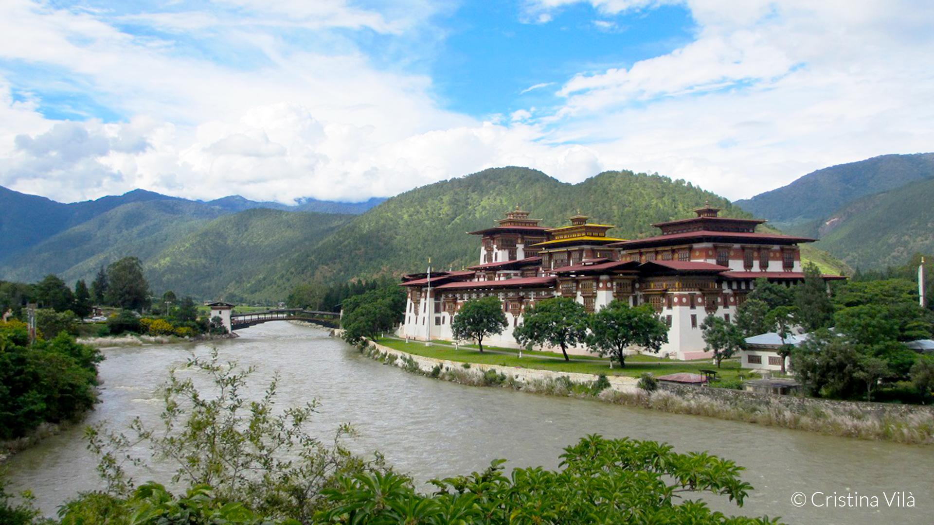 Bután, sostenible, Templo de la felicidad