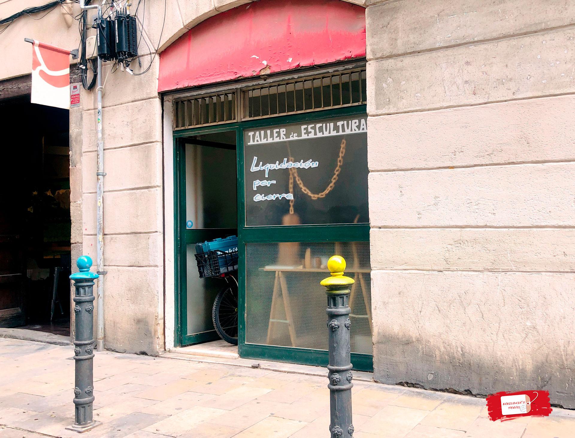 taller portal nou local