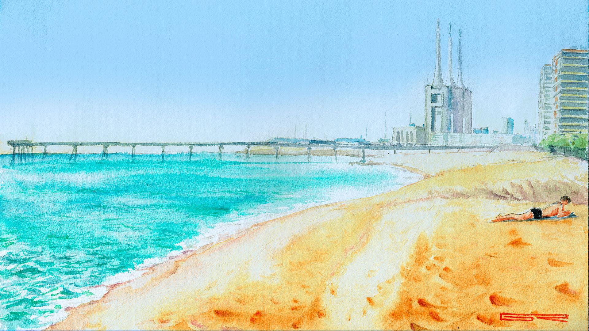 Playa Badalona