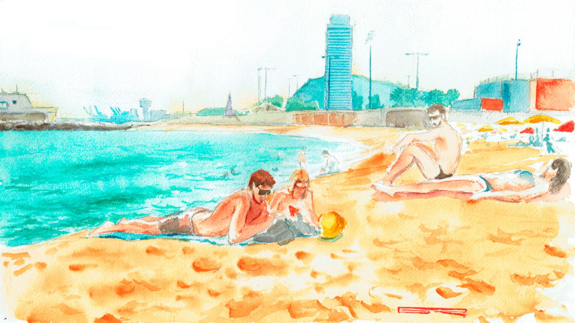 Barcelona-playa-Forum